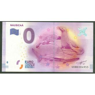 62 Nausicca 0 Euro Billet...