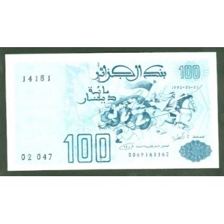 Algerie 100 Dinars P137...