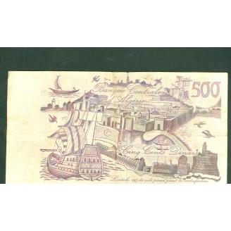 Algerie 500 Dinars P129 3...