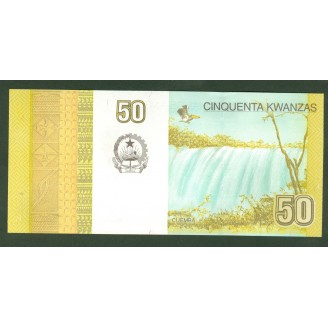 Angola 50 Kwanzas P152 Etat...