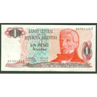 Argentine 1 Peso Argentino...